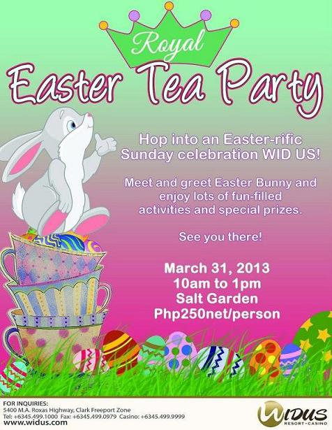 Easter Tea Party at Widus