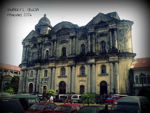 Church in Taal, Batangas