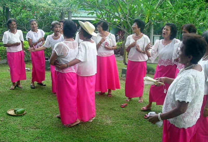 Folk Dancers, San Pablo Laguna