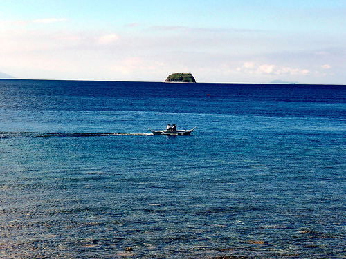 Sombrero Island at A Distance