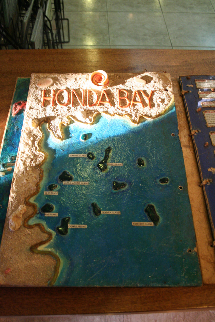 Honda Bay Map