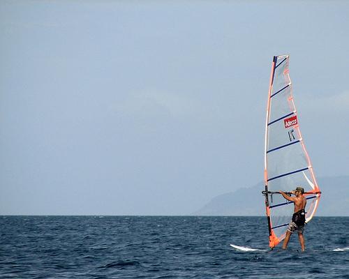 Windsurfing in Anilao