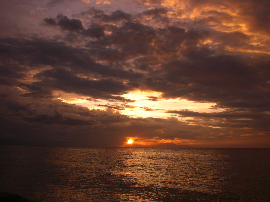 Shy Sunset