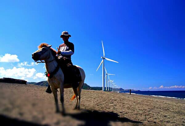 The Windmills of Bangui and Caloy Palaboy