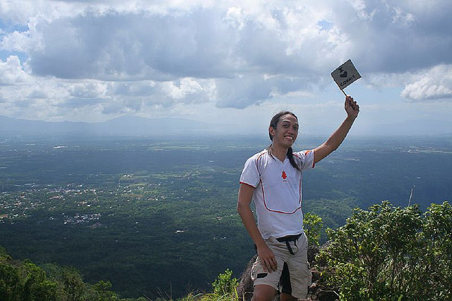 Peak of Mt. Banahaw by suntoksabwan (fr Flickr) under CC BY 2.0