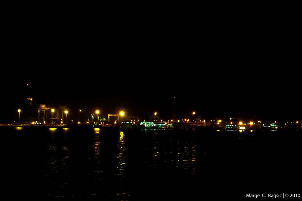 Batangas Port at Night