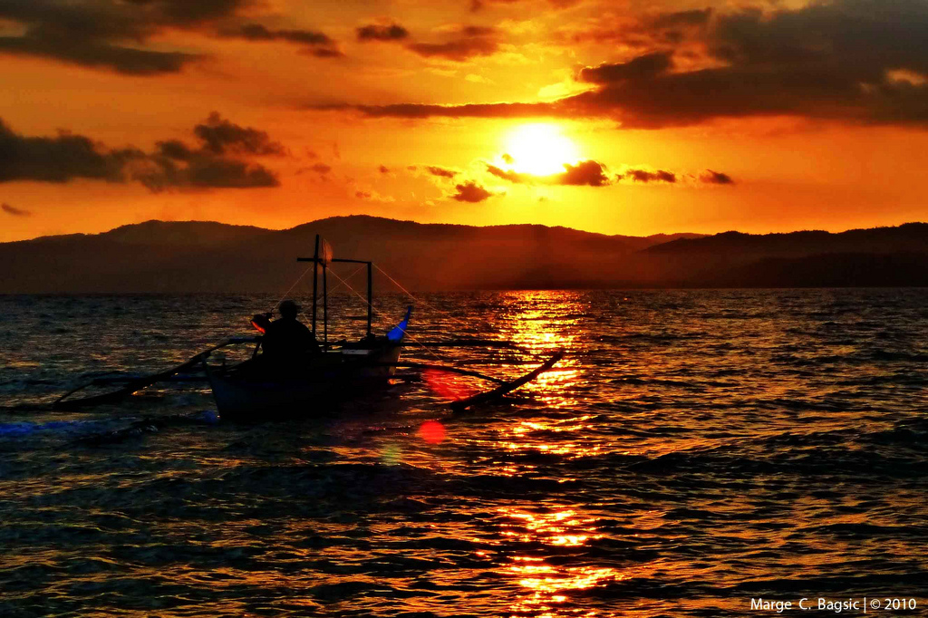 Sunset at Occidental Mindoro