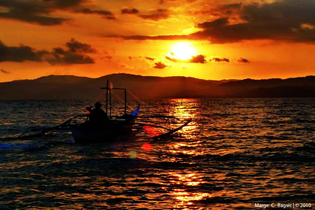 Sunset at Occidental Mindoro