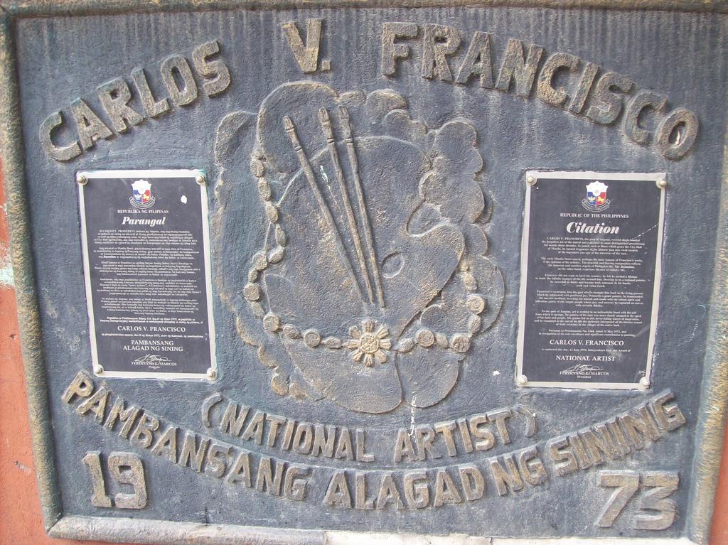 Citations of Botong Francisco