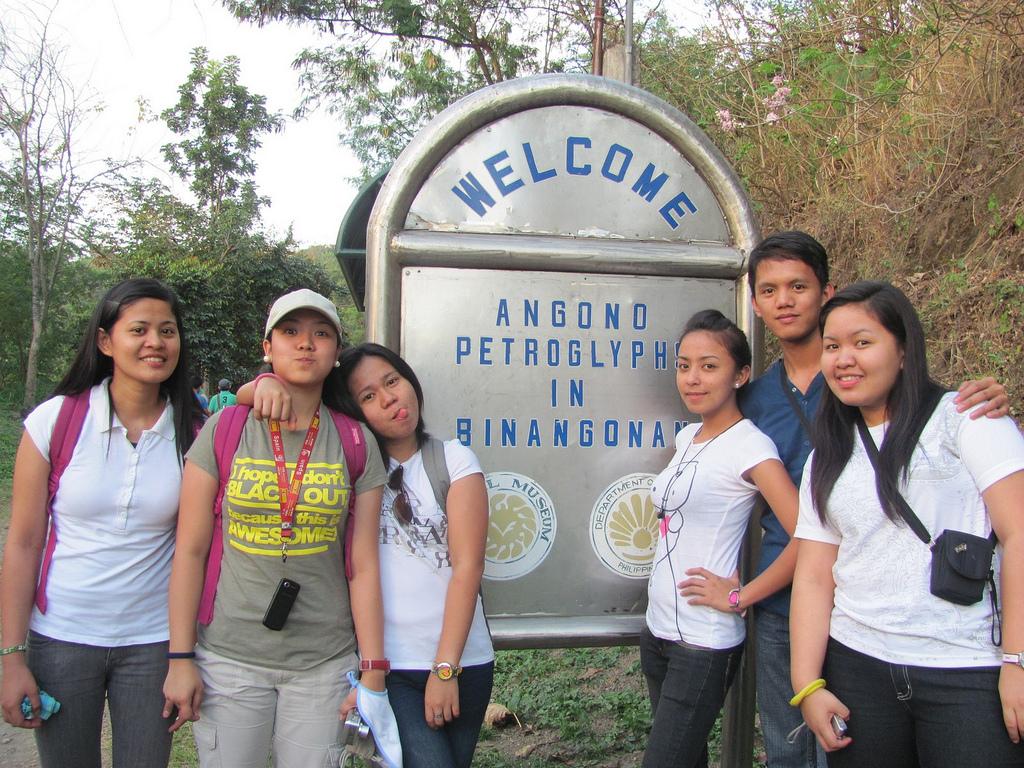 Welcome Sign of the Petroglyphs in Binangonan