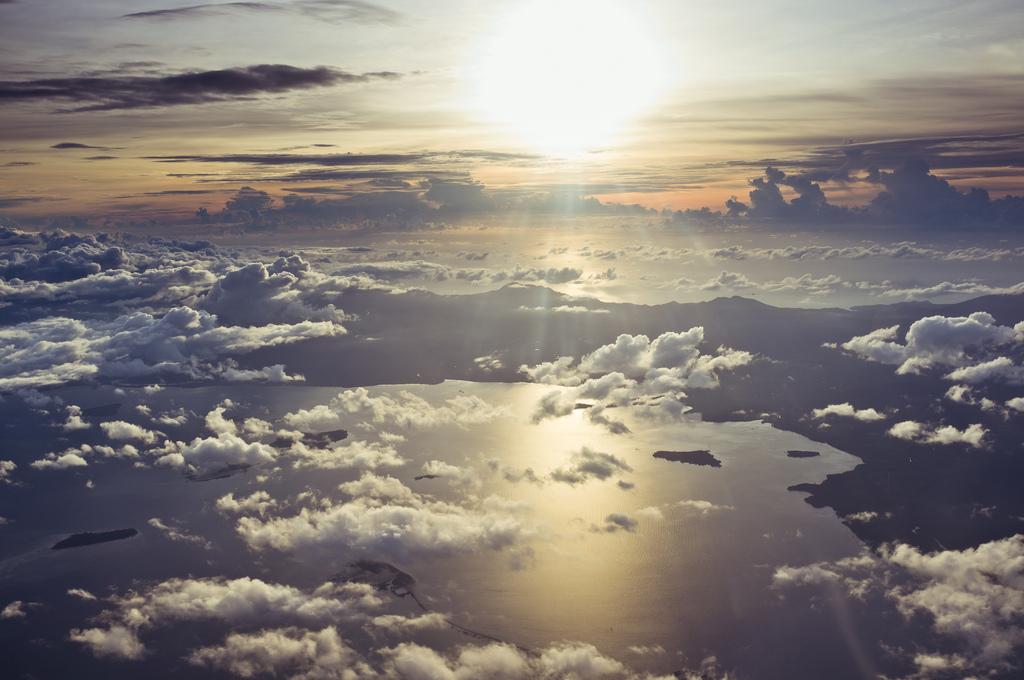 Sunset over Palawan