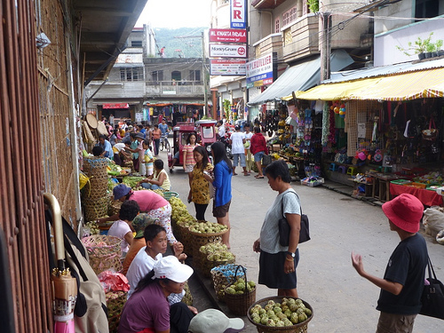 Market in Romblon