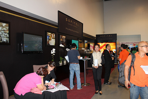 Hotel Sofitel Booth at 20th TTE by iMAGIO