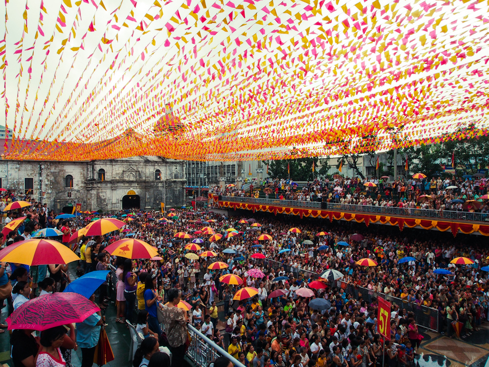 Sto. Nino Church in Cebu Festival