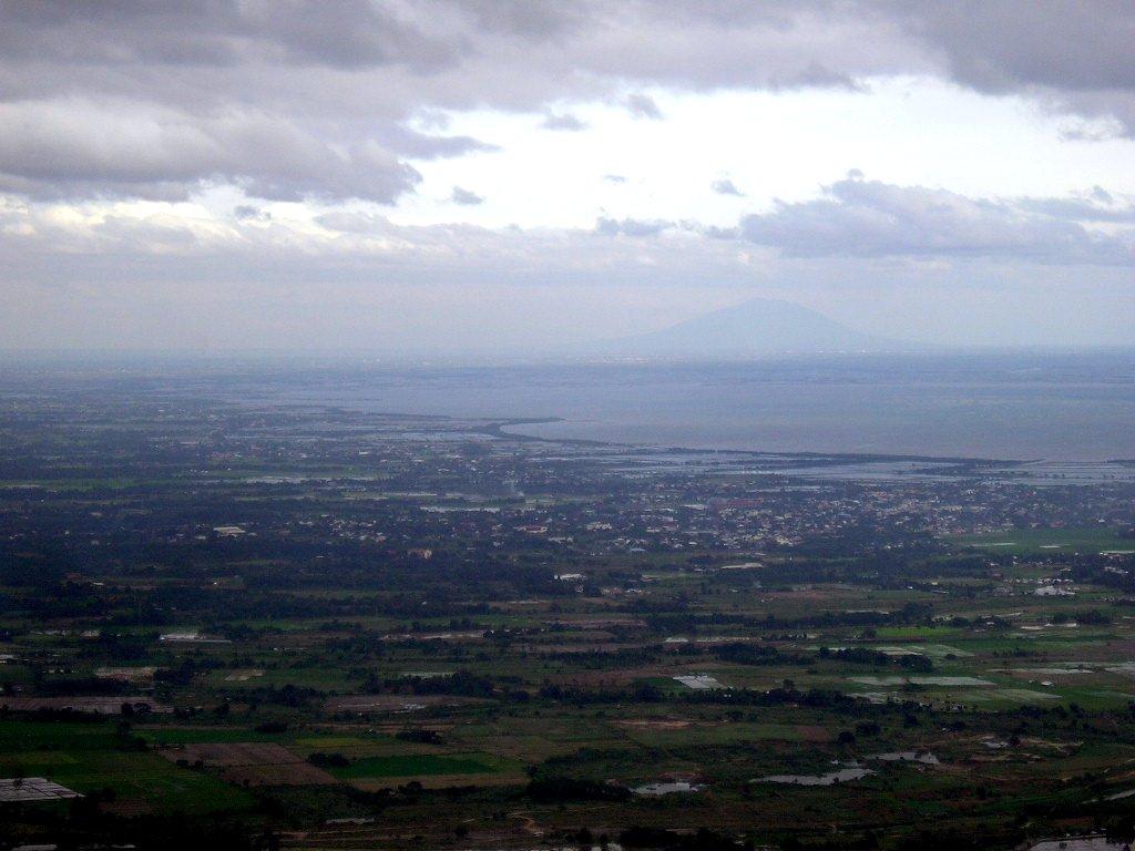 View from Mt. Samat, Pilar, Bataan