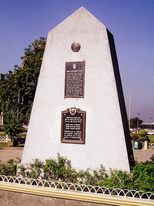 Gomburza Execution Site Monument