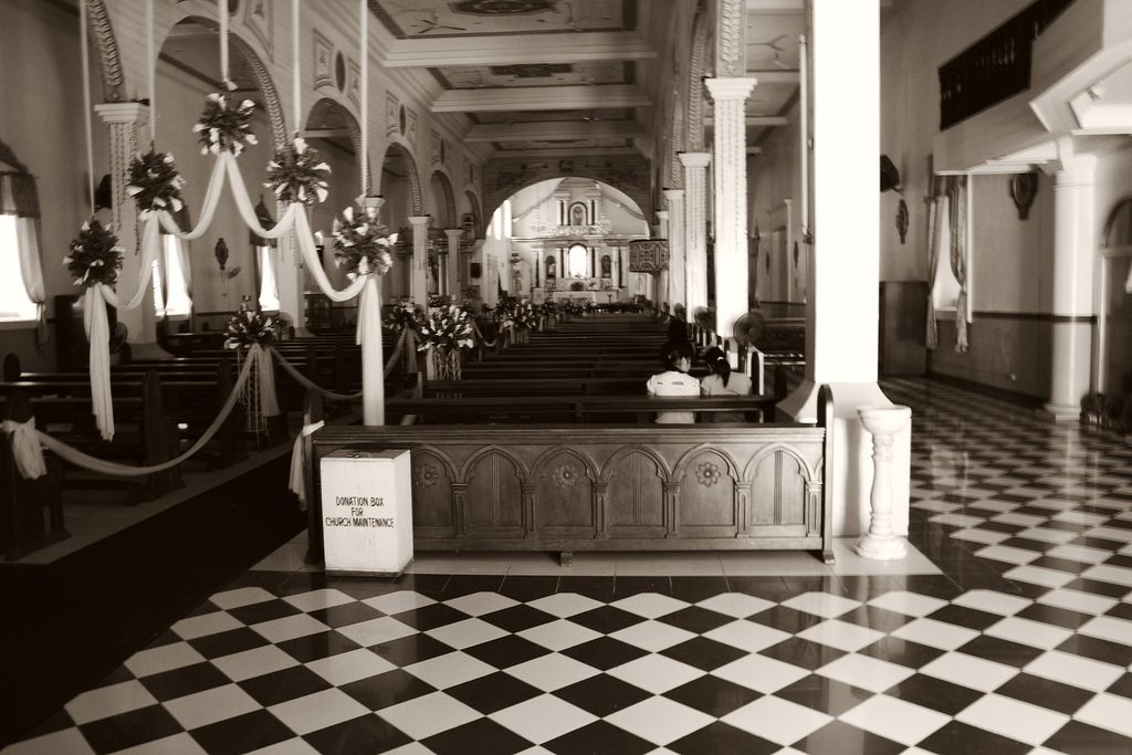 Inside the Barasoain Church