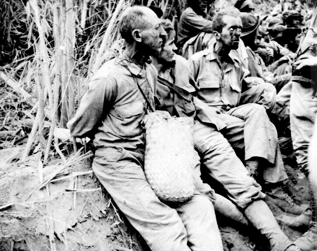 American & Filipino POWs during the War