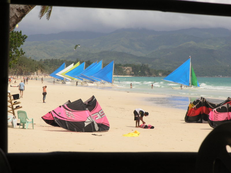 Watersports in Boracay