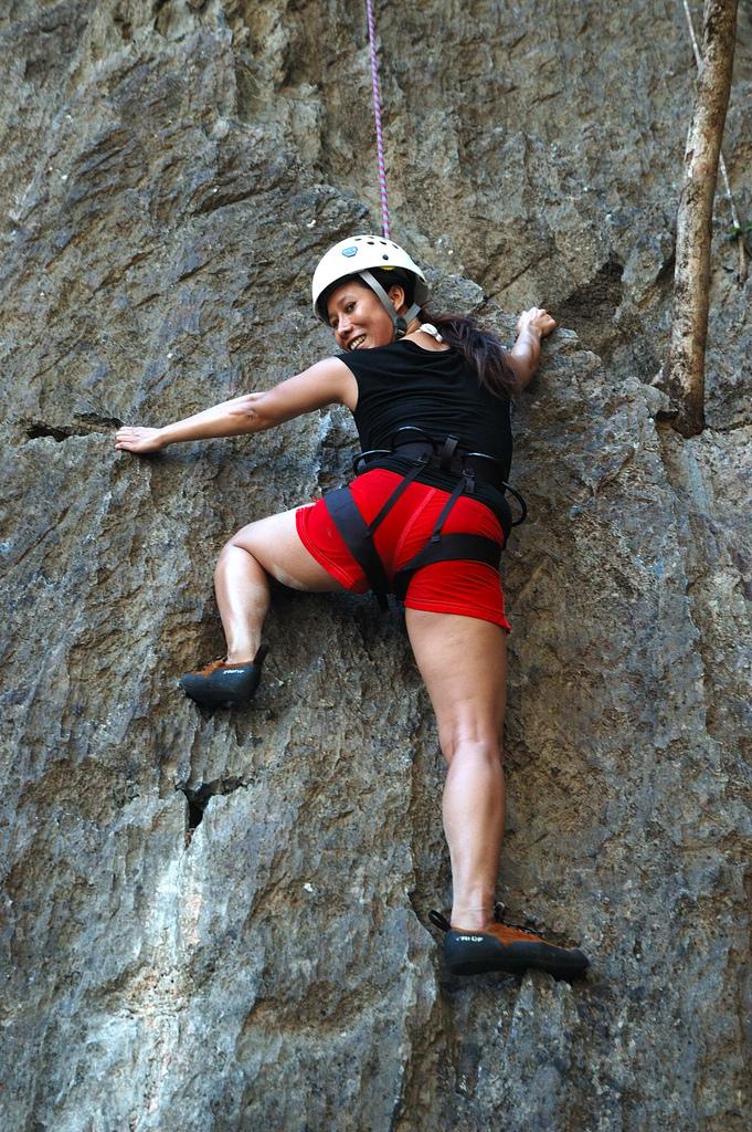 Rock Climbing at Ulugan