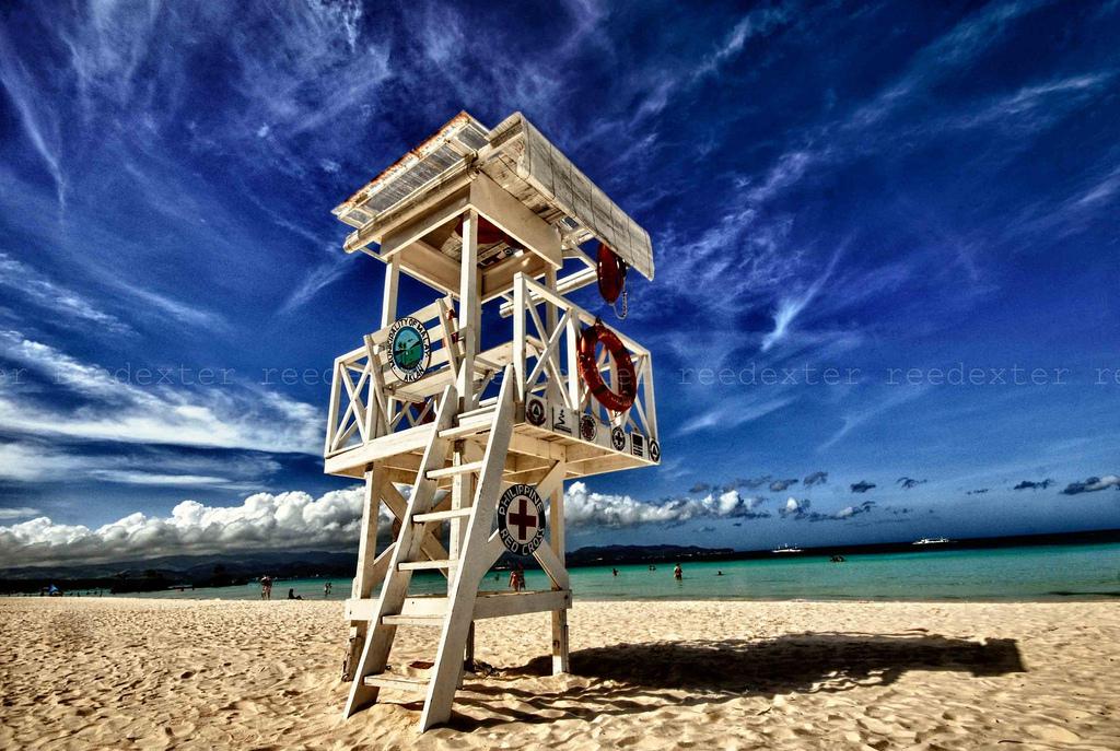 Baywatch in Boracay