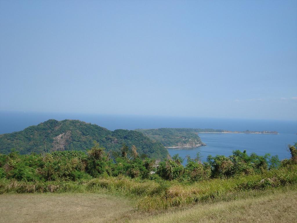 Tadpole Shaped Corregidor Island