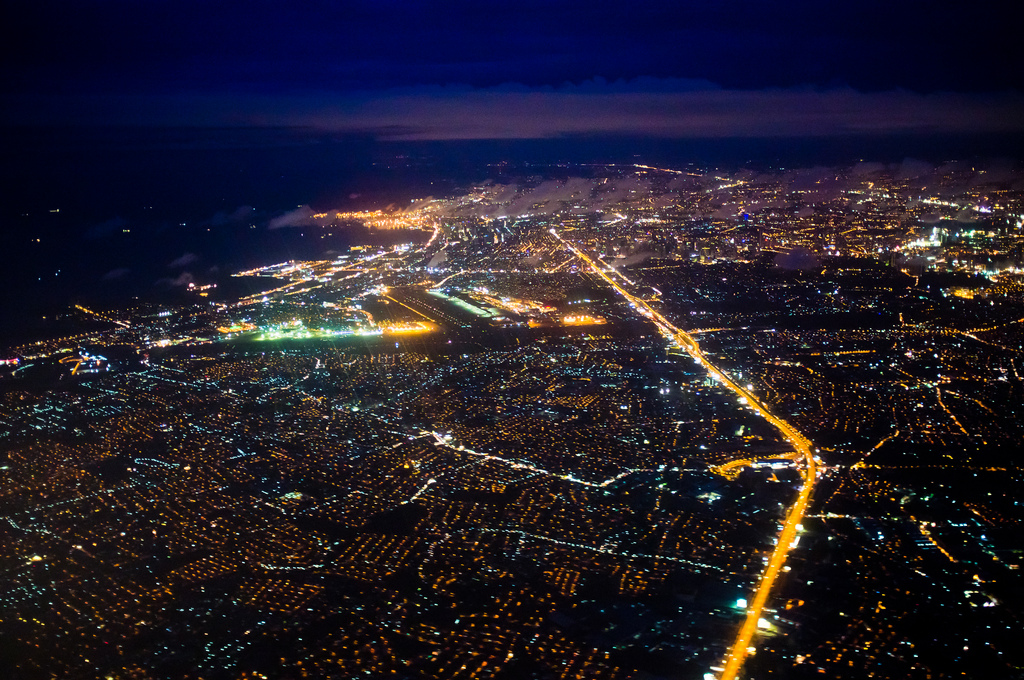 Nightview of Metro Manila