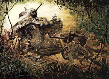 Bataan during the War