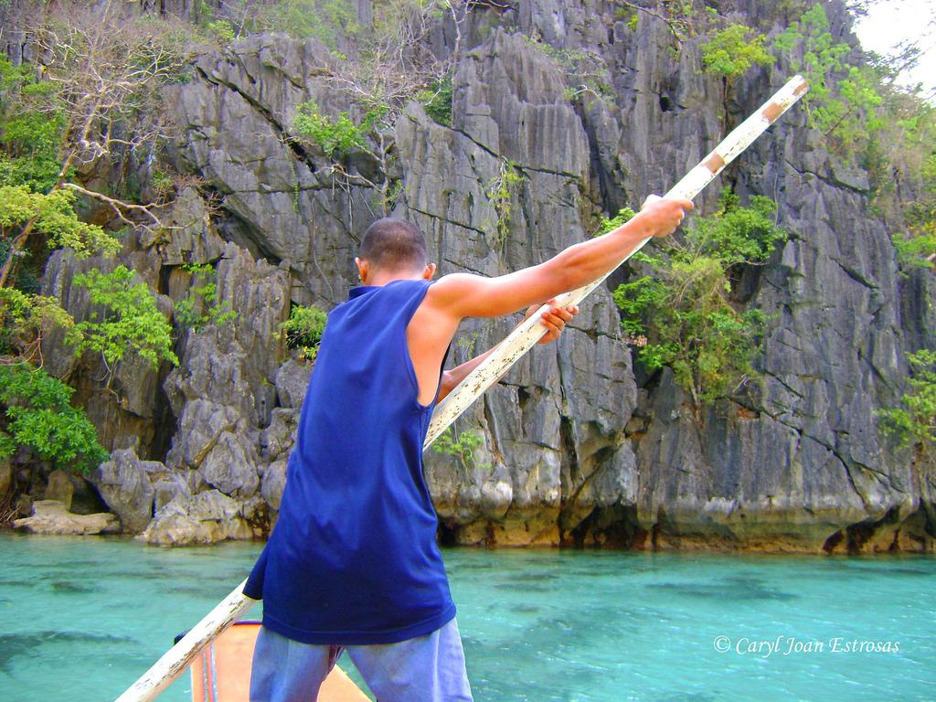 A boatman in Coron Island