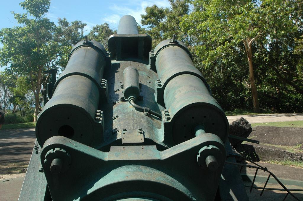 Cannon at Corregidor