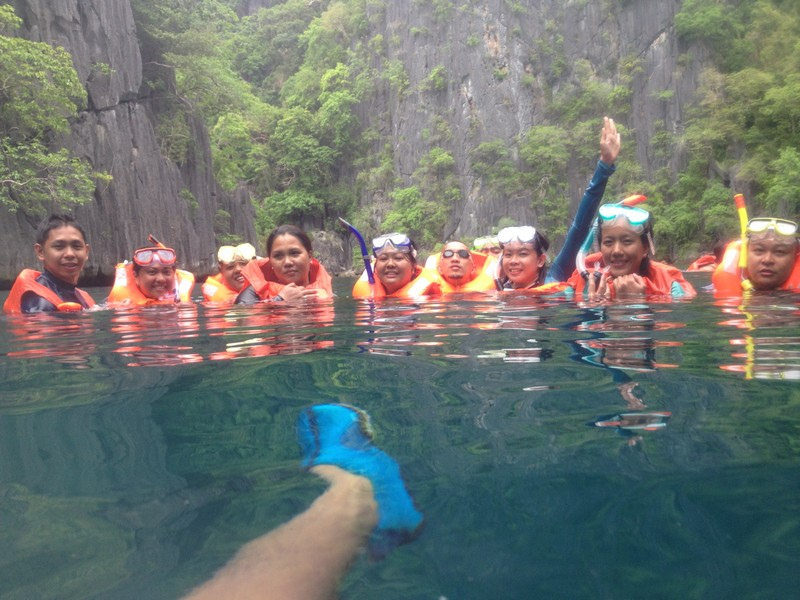 Snorkeling at Dinot Rocks