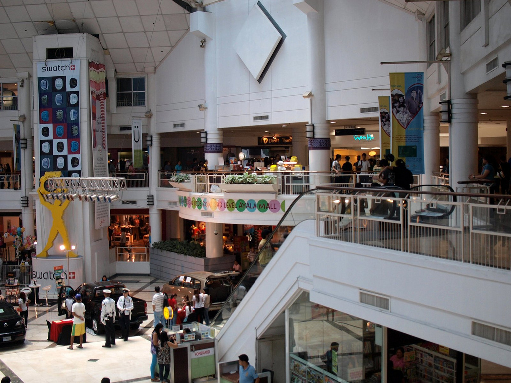 Inside Glorietta Mall