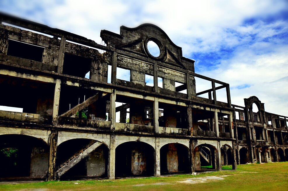 Ruins at Corregidor