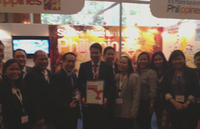 The Philippine contingent at the Routes Asia 2013, Mumbai, India.