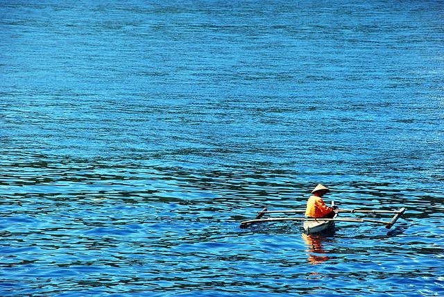 Fishing at Tanguines Lagoon