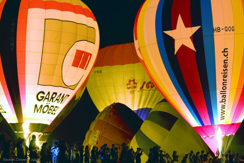 Hot Air Balloon Festival at Clark