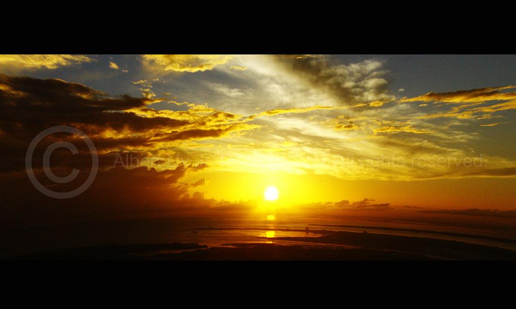 Sunrise at Cebu