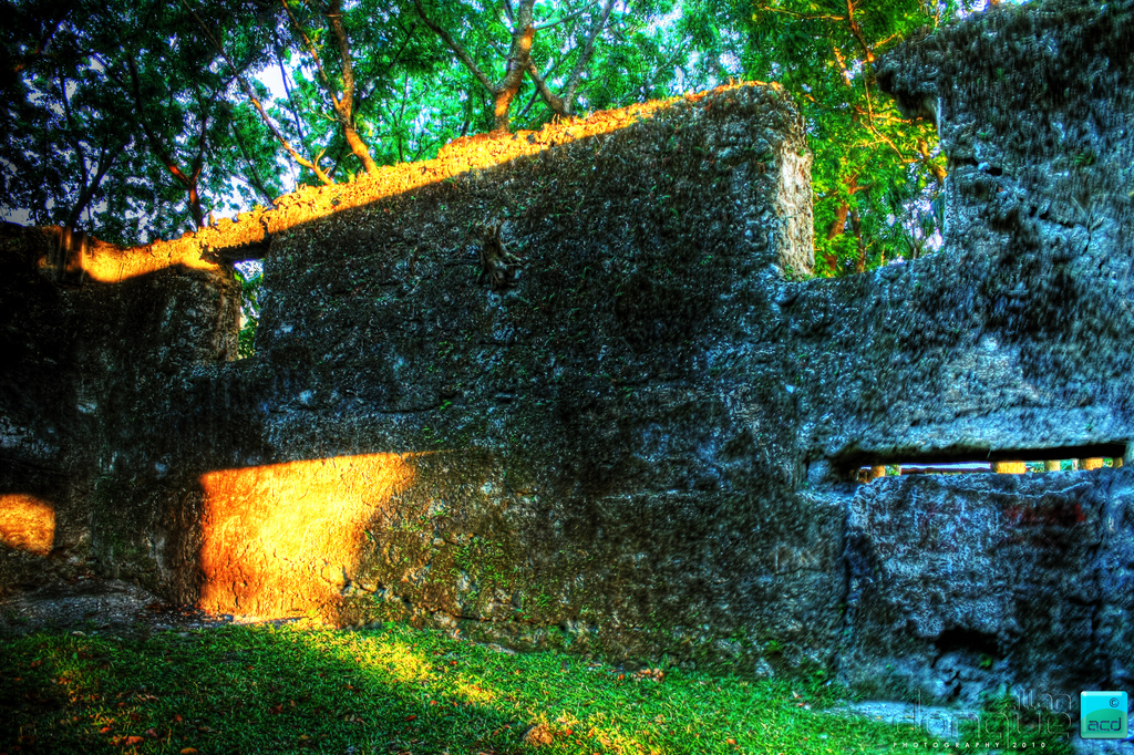 Ruins of the Old Catarman Church