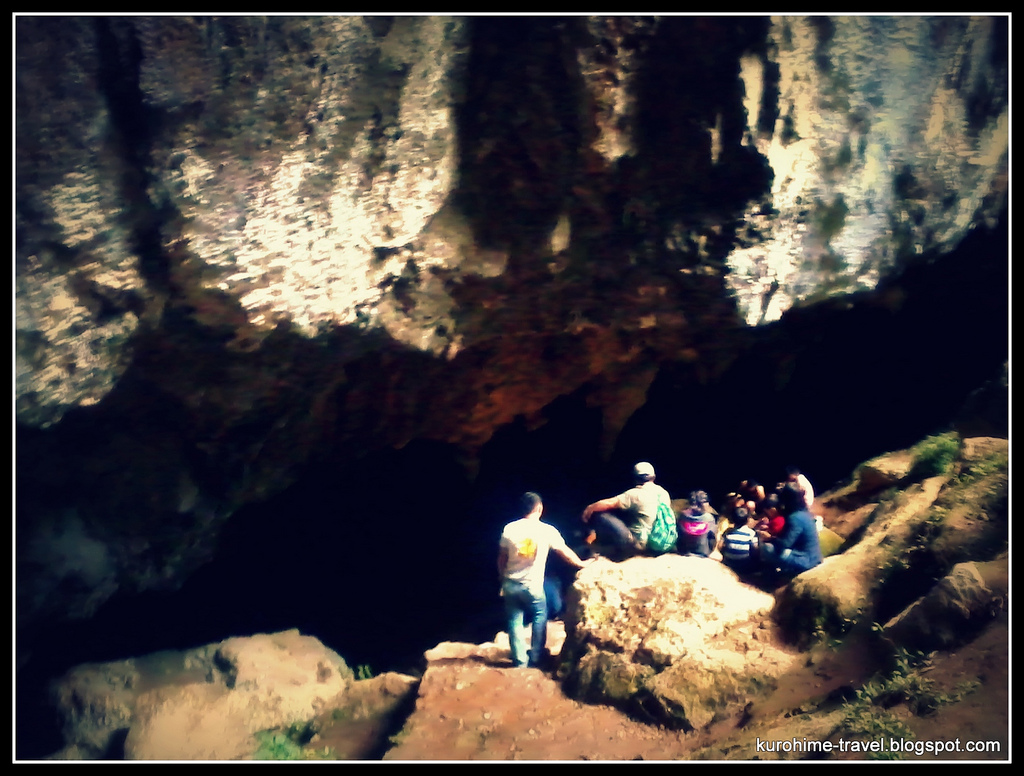 Spelunking at Sagada