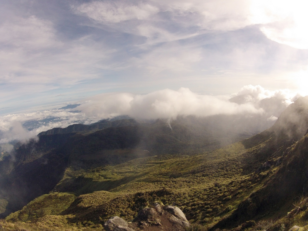 Peak of Mt. Apo