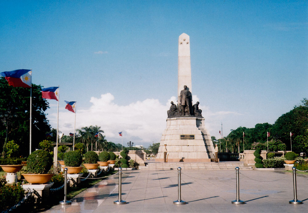 Rizal Monument at the Rizal Park