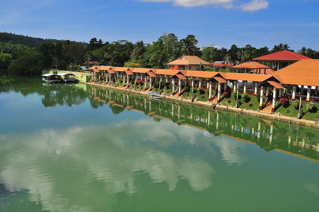 Loboc River Tourism Complex in Bohol Island.
