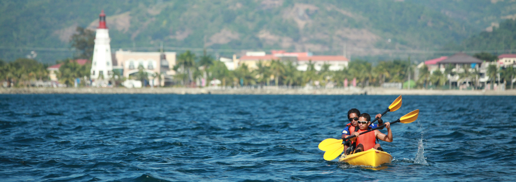Kayaking at the Lighthouse Marina Resort Subic 2