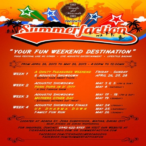 Summerfaction Weekend Destination