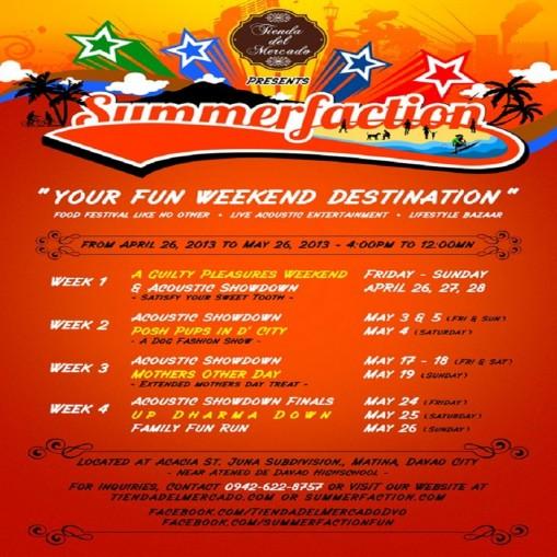 Summerfaction Weekend Destination