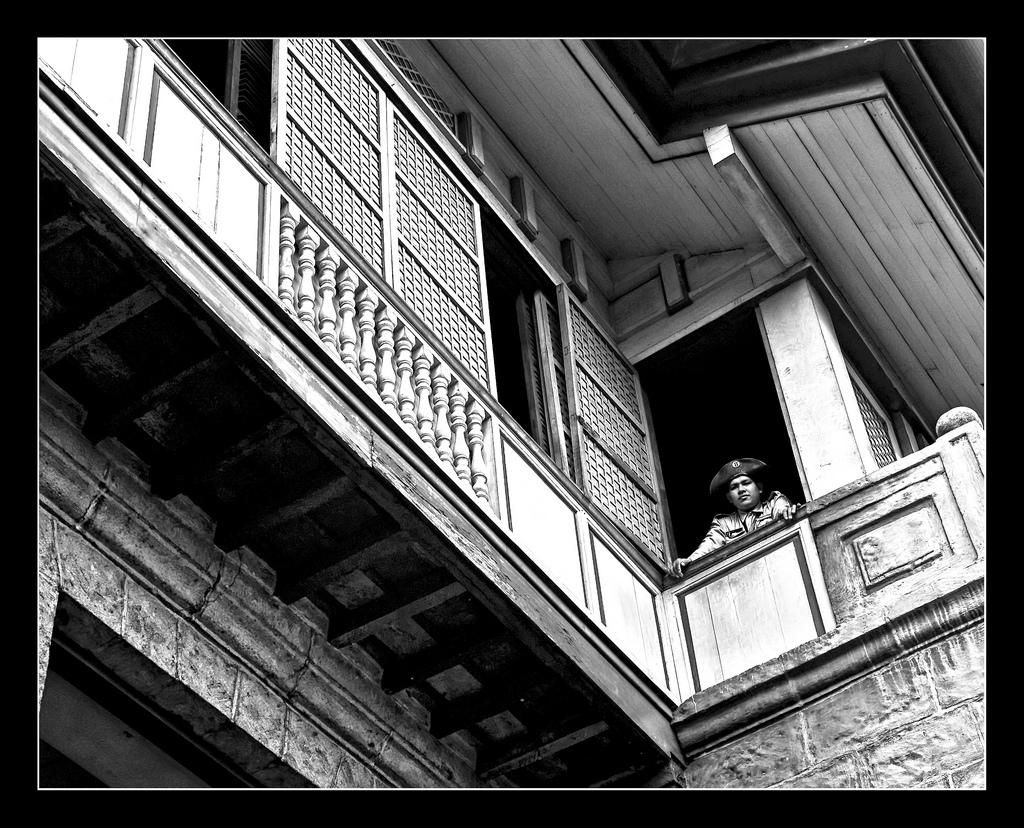 An Old Spanish House in Intramuros by Salim Photography/Creative Commons