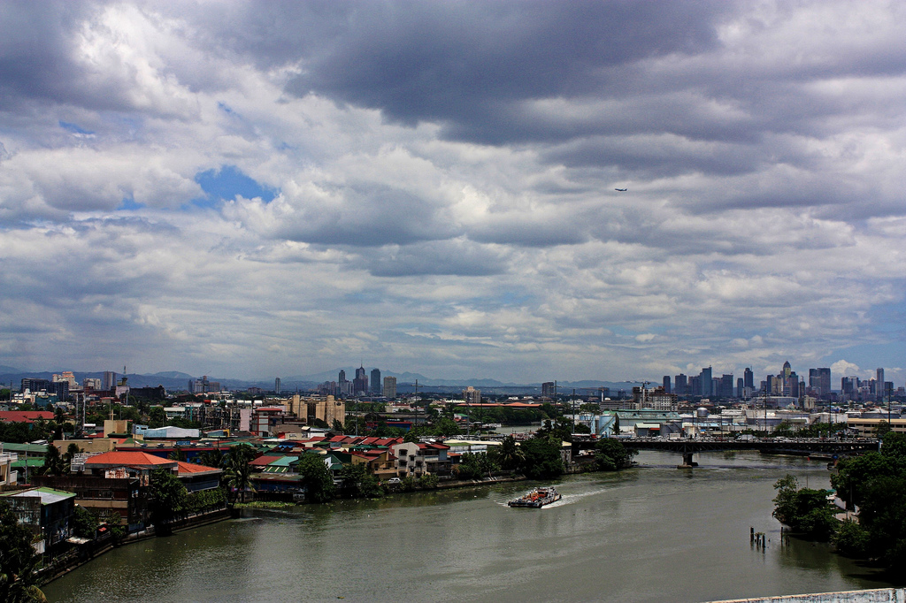 Pasig River by ibarra_svd/Creative Commons