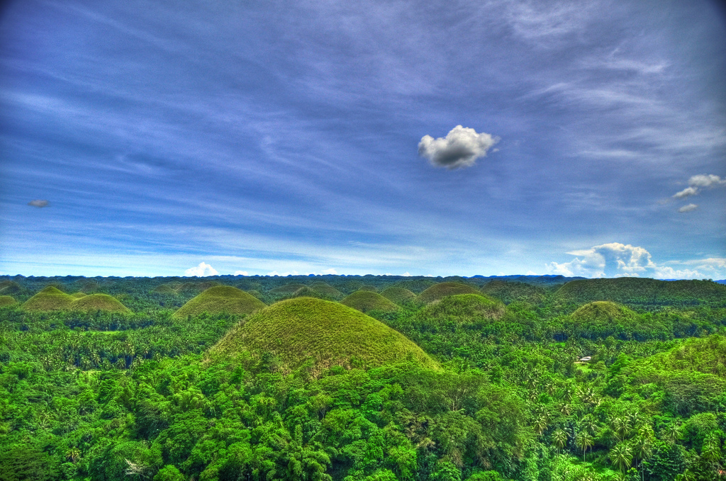 Chocolate Hills by mendhak/Creative Commons