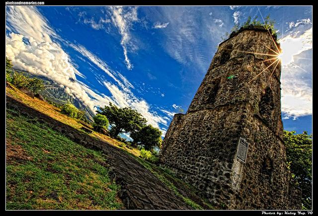 Cagsawa Ruins, Albay by Karlo Yap