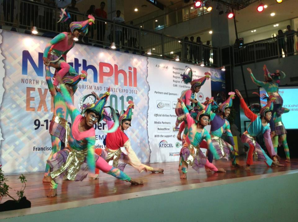 One of the Entertaining Highlights: Cultural Presentation at NorthPhil Expo
